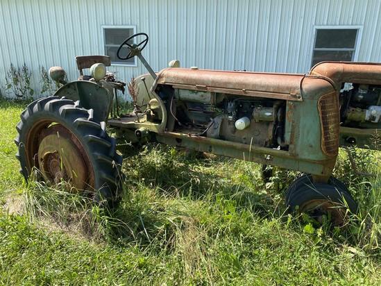 Vintage Oliver 60 Row Crop Farm Tractor