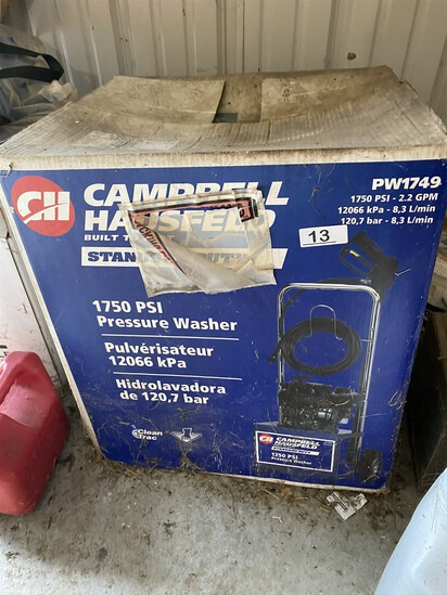 Campbell Hausfield Gas Pressure Washer New in Box