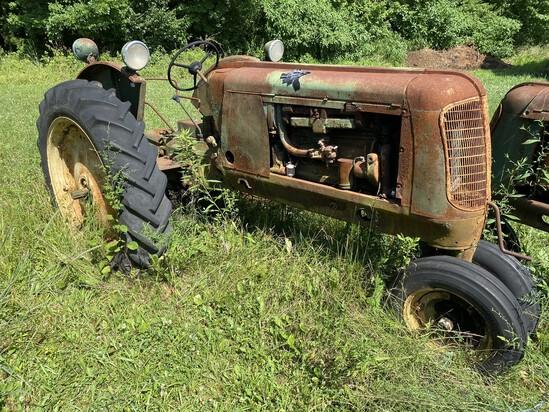 1938 Vintage Oliver 70 Row Crop Farm Tractor