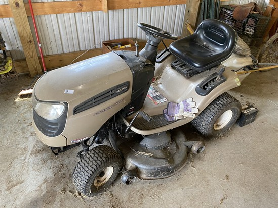Craftsman DLS3500 Riding Lawn Mower