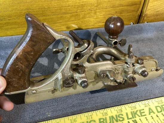 Antique Stanley 45 Woodworking Plane Nice