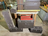 Group lot of Kennedy Tool Boxes