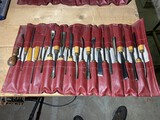 Collection of assorted Chisels, woodworking gouges etc