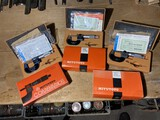 Lot of 3 Mitutoyo Precision Gauges in Boxes