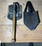 Pair of Vintage Military Trench Shovels