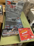 Tool kit in case, Oscillating tool, Flex Shaft Grinder