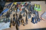 Large lot of assorted hand tools
