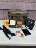 Charles Beseler Co C-6 Air Force Press Camera in Case