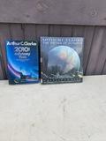 2 vintage books by Arthur C. Clarke