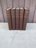 Book: History of England by Macaulay Vol. 1,2,3,4,&5