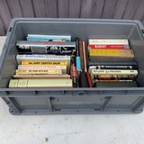 Group of Vintage Books including Custer, Thurber, Cinema etc