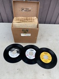 Collection of 45 with Record Box