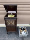 Edison Disc Phonograph record player