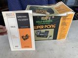 Sears Super Pong Telegames Model # 637.997360 game system