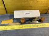Vintage Lie-Nielsen Toolworks Butt Mortise Plane with extra blades