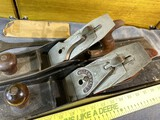 Pair of Antique Bench or Jointer Planes - Marsh and Millers Falls
