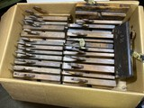 Huge lot of assorted moulding planes - various makers