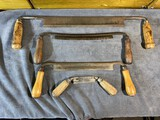 Group lot of antique Draw Shave Tools