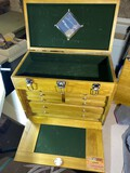 Wooden Antique Style Carpenter's Toolbox by Windsor