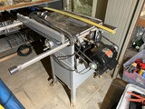 Vintage Delta Homecraft Table Saw Jointer on Wheels