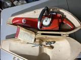 Vintage Remington Dupont SL-9 Chainsaw in case