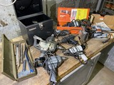 Group lot of assorted power tools and more