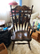 Solid wood  Stenciled Rocking Chair