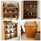 Filing Cabinet, Shelf with Boyds Bears, 2 additional shelves with Décor Items