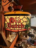 Vintage Plastic Old Dutch Beer Light (Works, No Cracks)