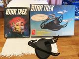 Vintage Star Trek game and model lot