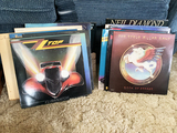 Group lot of records including classic rock