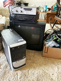 Collection of Electronics - computer, tv, vintage amp etc