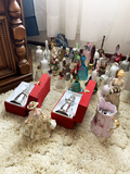 Collection of Bells including Fenton, glass etc.