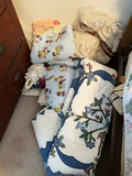 Vintage Toilet Seat Cover, Quilts, Fabric