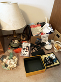 Household items, camera, buttons
