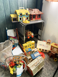 Vintage Fisher Price, Play School, and Barbie Items