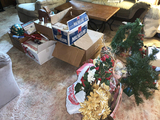 Large Lot of Christmas Items (see Pictures)