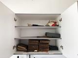 Contents of Garage, old Cabinet Encyclopedias