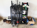 Golf Clubs, Shows, Rack and Accessories