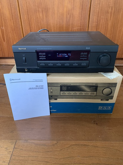Sherwood am/fm stereo receiver RX-4103