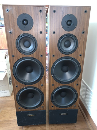Henry Kloss Cambridge Soundworks Tower 2 Speakers
