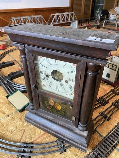 Small sized antique 19th century clock