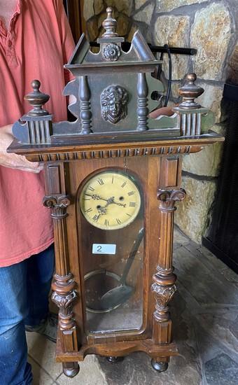 Antique Clock with elaborate design