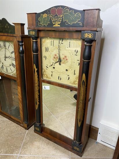 Antique Clock with 19th century paint decoration