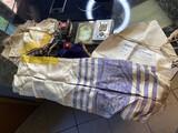 Early Antique Jewish Prayer Shawls, Torah Box etc