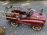 Children's Pedal Fire Truck
