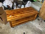 Nice vintage cedar chest or trunk