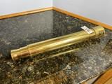 Antique heavy brass telescope