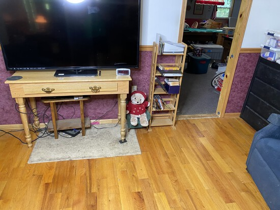 Vintage wooden table with drawer PLUS more furniture