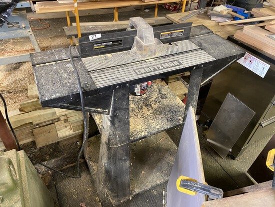 Sears/Craftsman Industrial Router Table
